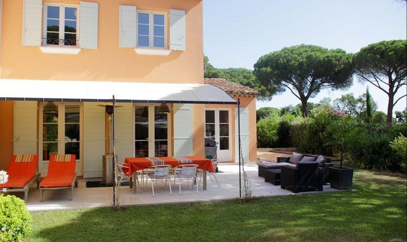 Maison de vacance à louer 4 chambres, 8 personnes sur Gassin/St-Tropez, location de vacances à Saint-Tropez