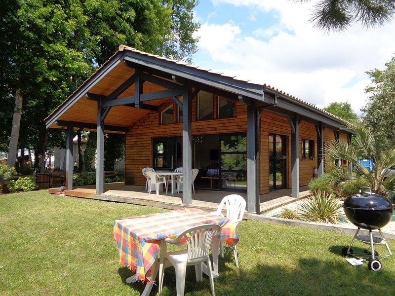 Maison lac de Biscarrosse Landes, vacation rental in Gastes