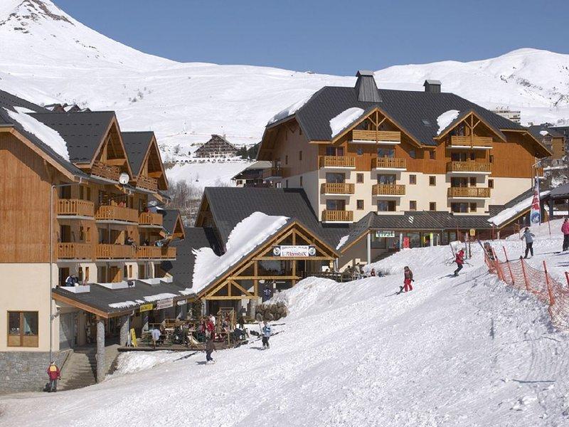 Appartement idéalement situé aux pieds des pistes, holiday rental in Saint-Martin-sur-la-Chambre