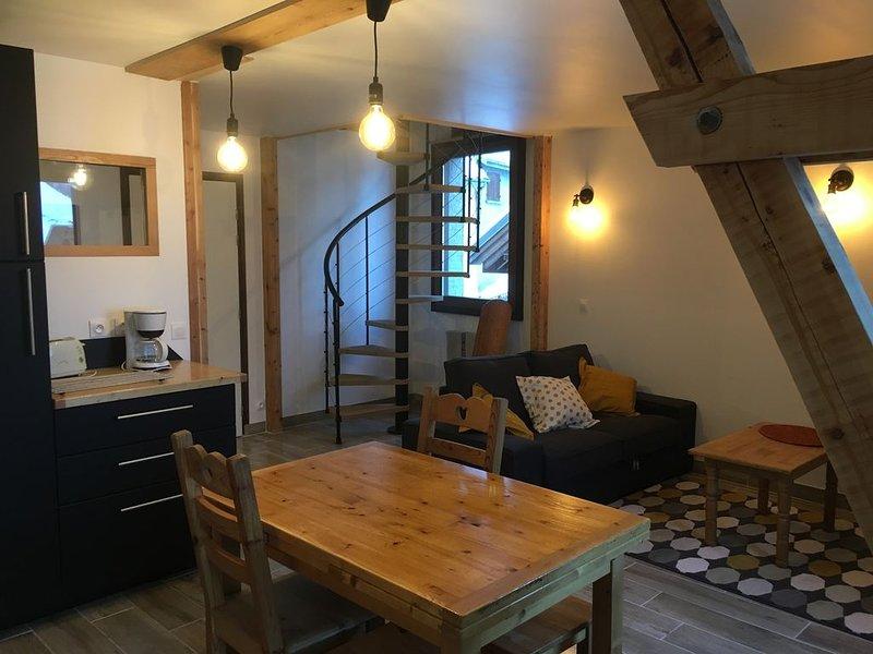 Appartement au Pays de La Meije, aluguéis de temporada em La Grave