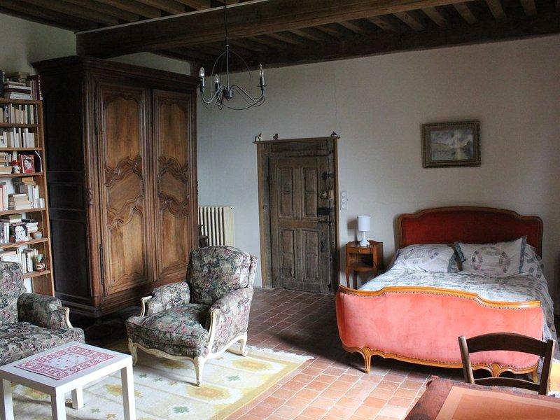 Maison de Noble Nicolas - Julie, holiday rental in Vault-de-Lugny
