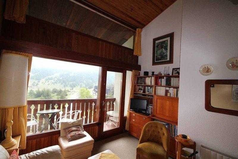 Appartement à Gréolière les Neiges, location de vacances à Alpes Maritimes