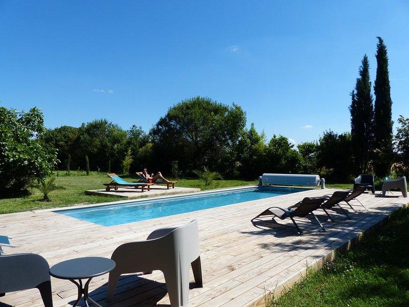 Gites DES OLIVIERS-  Au Domaine d'en Pastré - Roumens, holiday rental in Saint-Felix-Lauragais