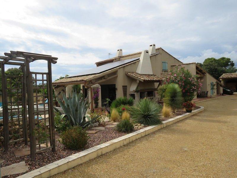 ' Farniente et villégiature ' au coeur du Vignoble du Languedoc, location de vacances à Le Pouget