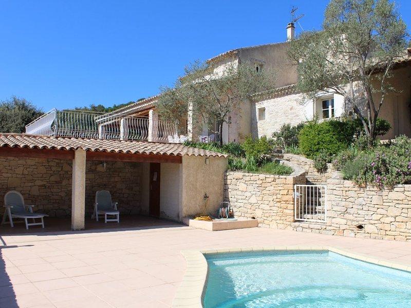 villa au pied des gorges de l'Ardeche, vacation rental in St Just d'Ardeche