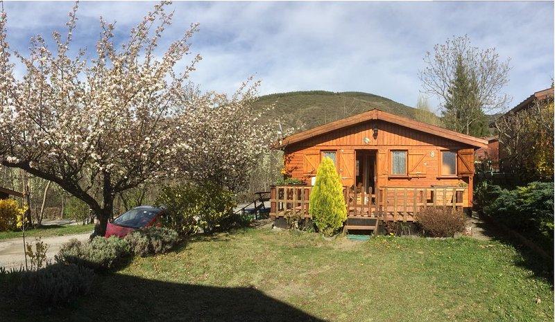 Chalet dans les pyrénées orientales, équipé, chaleureux et en pleine nature, holiday rental in Osseja