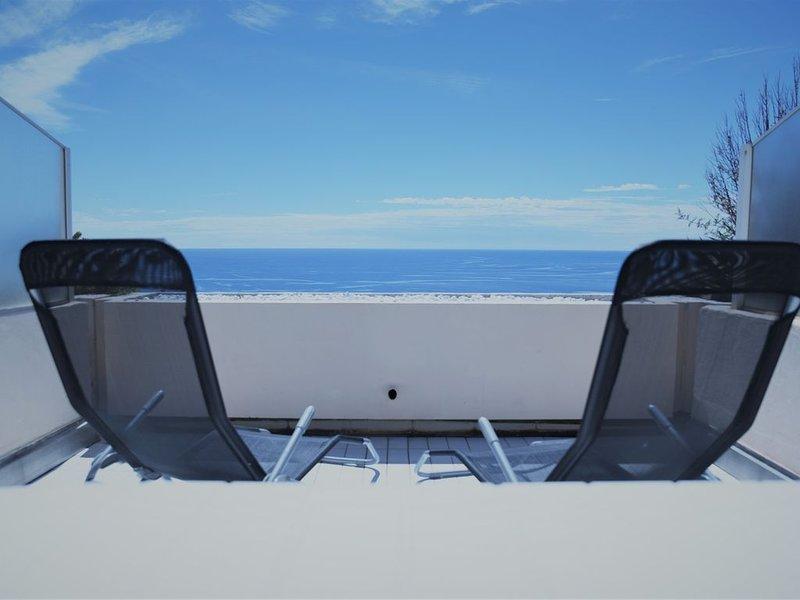 Charmant studio cabine vue mer, casa vacanza a Théoule sur Mer