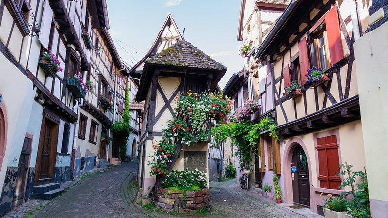 Gite tout confort H à Eguisheim, 5 km de Colmar, aluguéis de temporada em Pfaffenheim