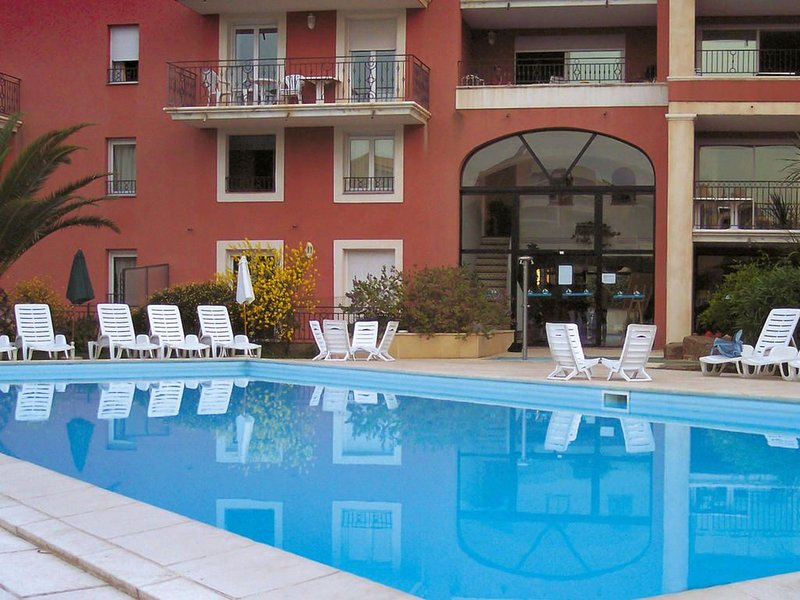 swimming pool in residence