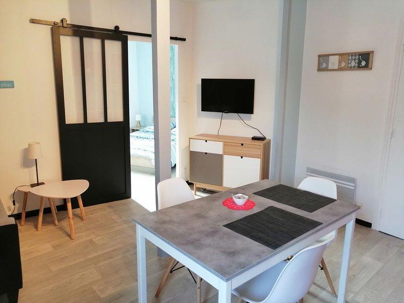Appartement centre Larmor-Plage et à 100 m des plages, casa vacanza a Gavres