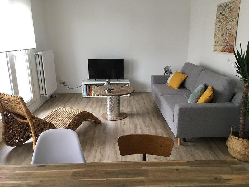 Appartement chaleureux idéalement situé à Metz centre, holiday rental in Longeville-les-Metz