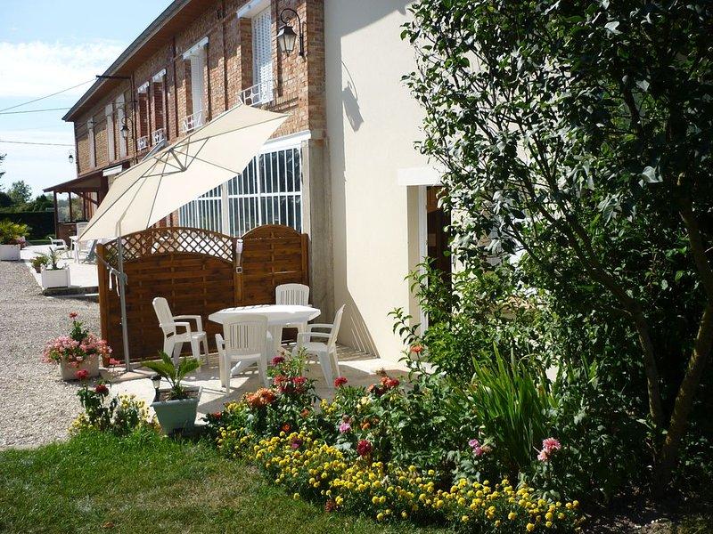 Le Clos Des Lacs  à Montieramey   appartement  clévacances 3clés, holiday rental in Foucheres