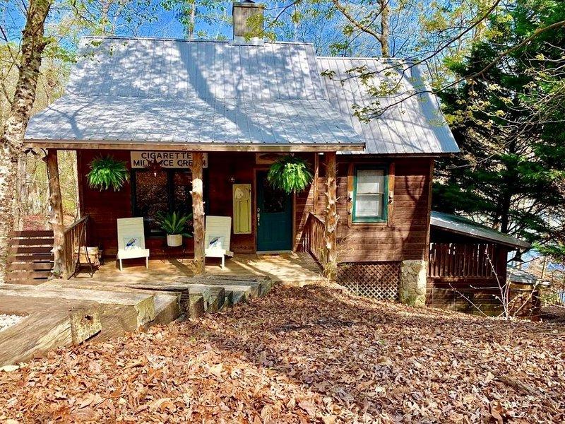 Quaint, Cozy, and Quiet Cabin on Lake Hartwell, location de vacances à Franklin Springs