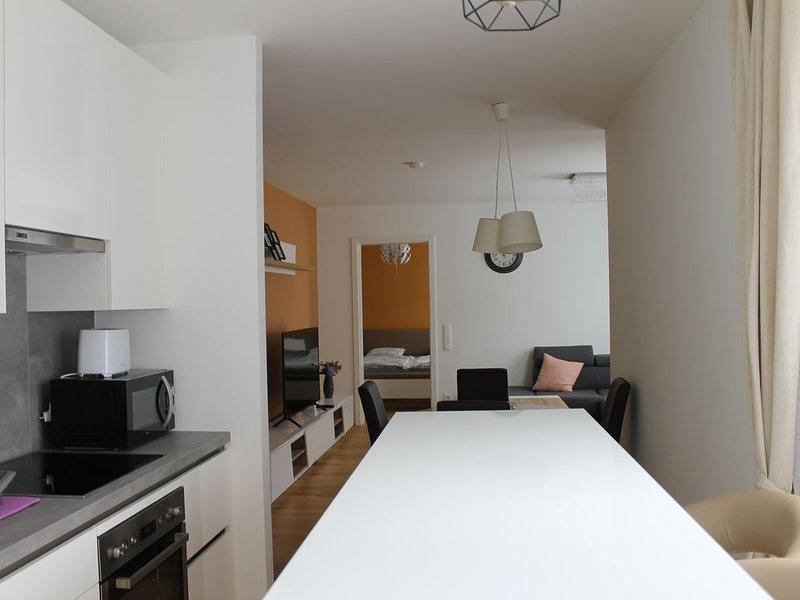 Cozy, Modern 1-bdrm Apt w/Garage near VIC-UNO City, location de vacances à Basse-Autriche