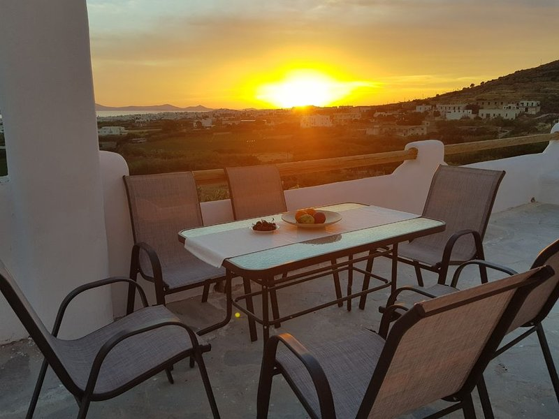 Evelina Traditional Cycladic Hill House, holiday rental in Agkidia