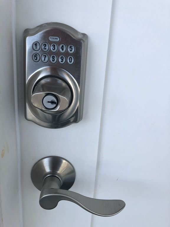 Coded lock for convenience