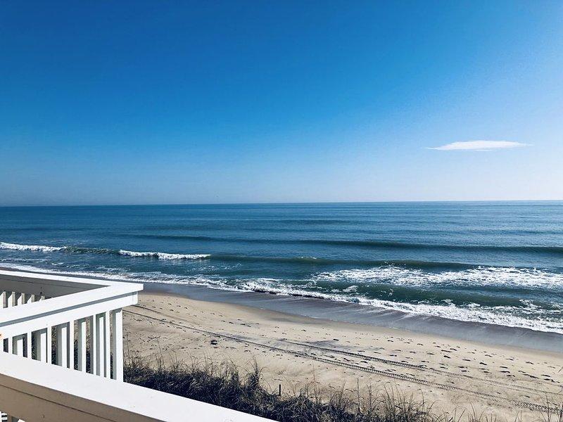 Nothing Could Be Finer...Carolina Beachfront Condo, aluguéis de temporada em Kure Beach