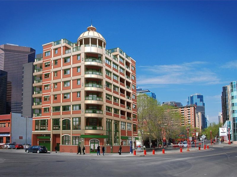 New| Modern |Homely|Serene|Cozy Apartment|RiverView|1Bed|1 SofaBed|Sleeps 3|, holiday rental in Calgary