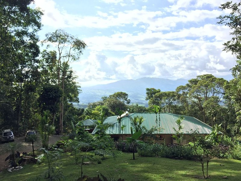 Elegant rainforest retreat, with loads of animals, beautiful views, vacation rental in San Gerardo