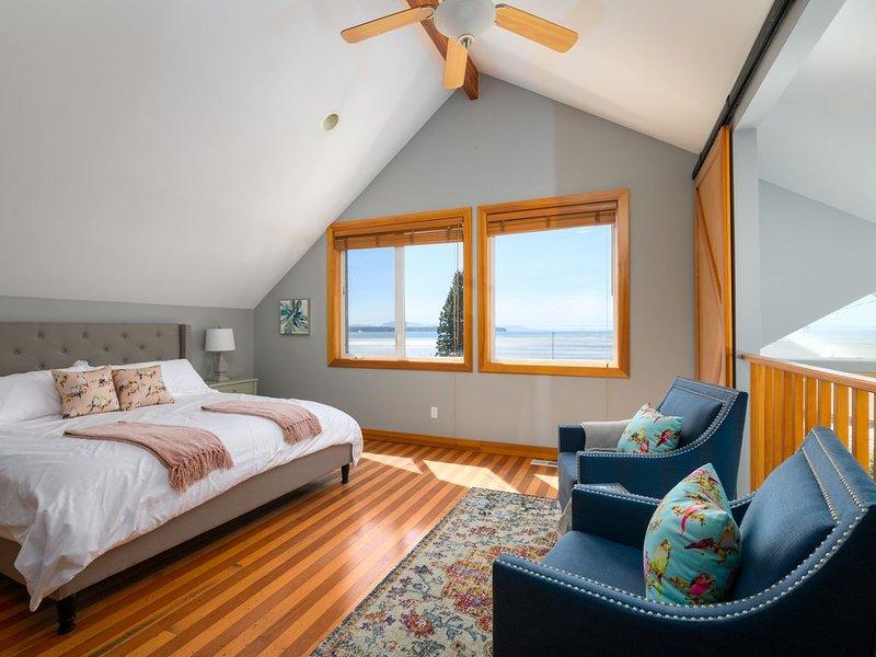 King master suite con impresionantes vistas de la bahía