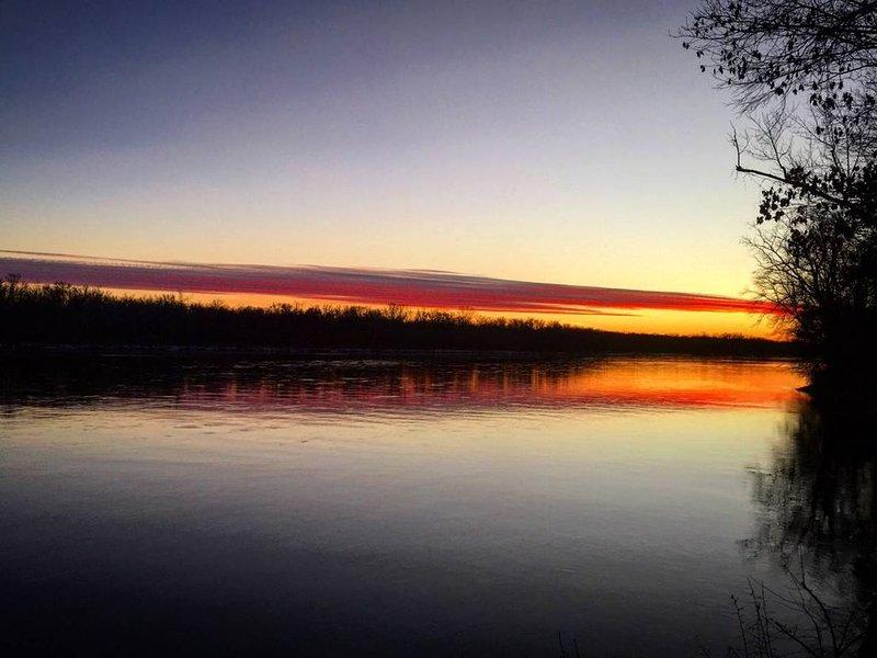 River's Edge Cabin, LLC, holiday rental in Boscobel