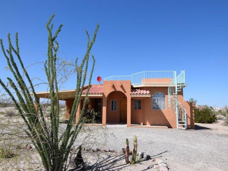 Charming Spanish Style Home in El Dorado Ranch San Felipe Mexico Fun in the Sun!, location de vacances à San Felipe