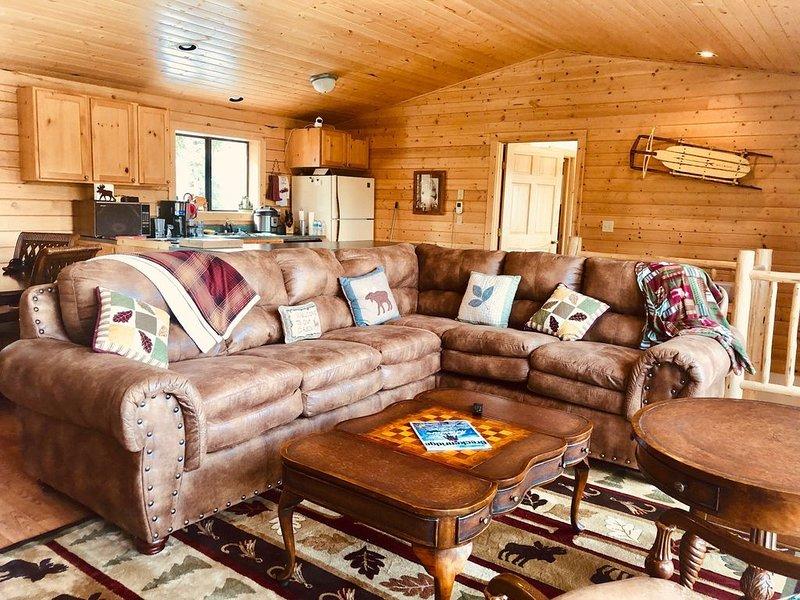 Cabin in 3 Acres at 11,111 ft Colorado Mountains, alquiler de vacaciones en Fairplay