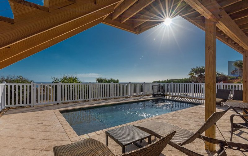 New Oceanfront, Private Pool and Boardwalk, vacation rental in New Smyrna Beach
