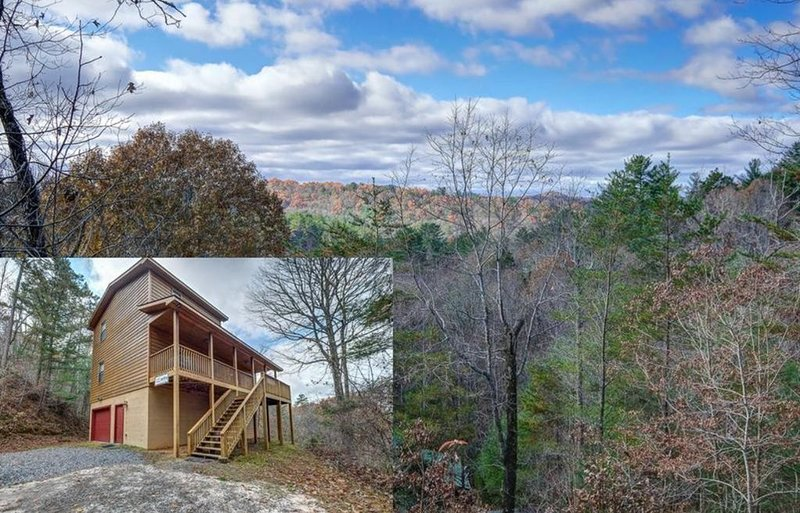 Take in Stunning Views in this Lovely Pet Friendly Smokey Mountains Chalet, holiday rental in Murphy