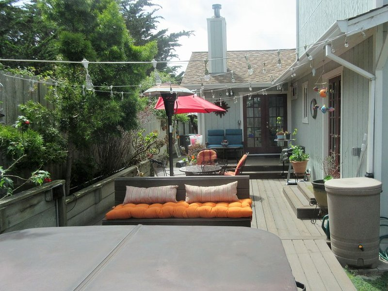 Enjoy Ocean Views, Fresh Air, Hot Tub, and Firepit, holiday rental in Moss Beach