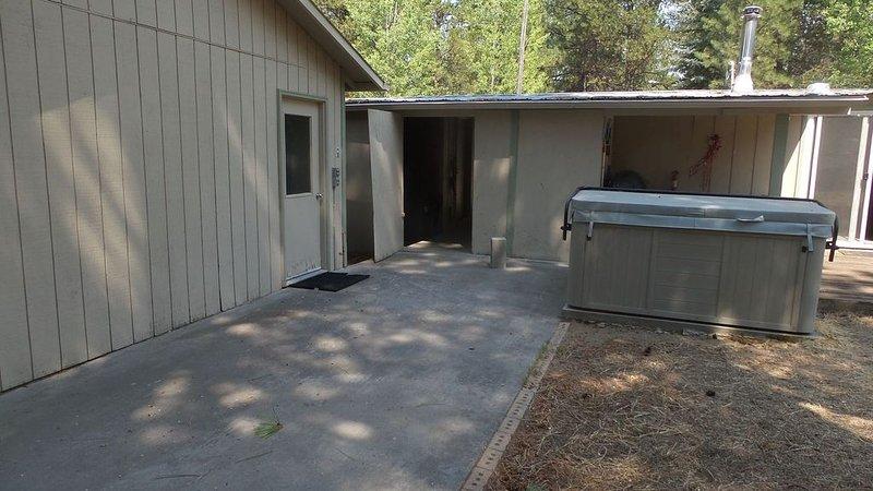 Rear of garage/ carport