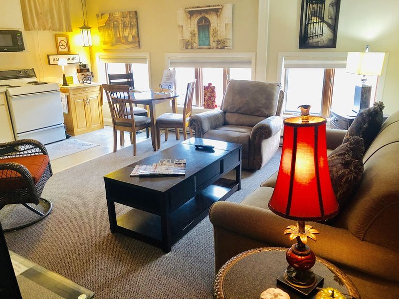 Beautifully Furnished One Bedroom In The Heart Of Historical Downtown Galena, holiday rental in Galena