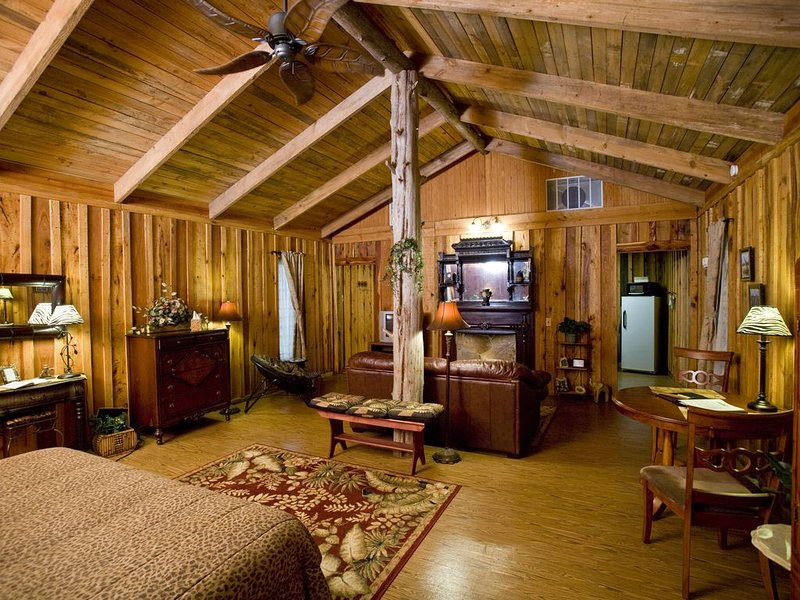 Jungle Suite at Panther Valley Ranch, holiday rental in Fountain Lake