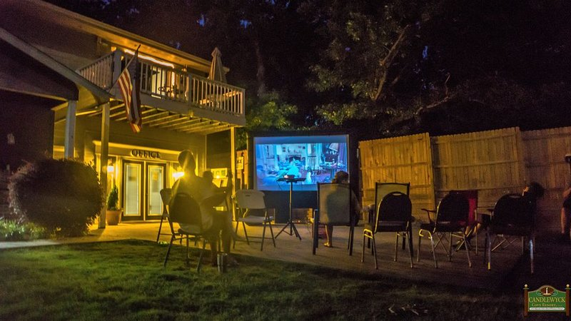 Free Movie Nights in Summer For Guests