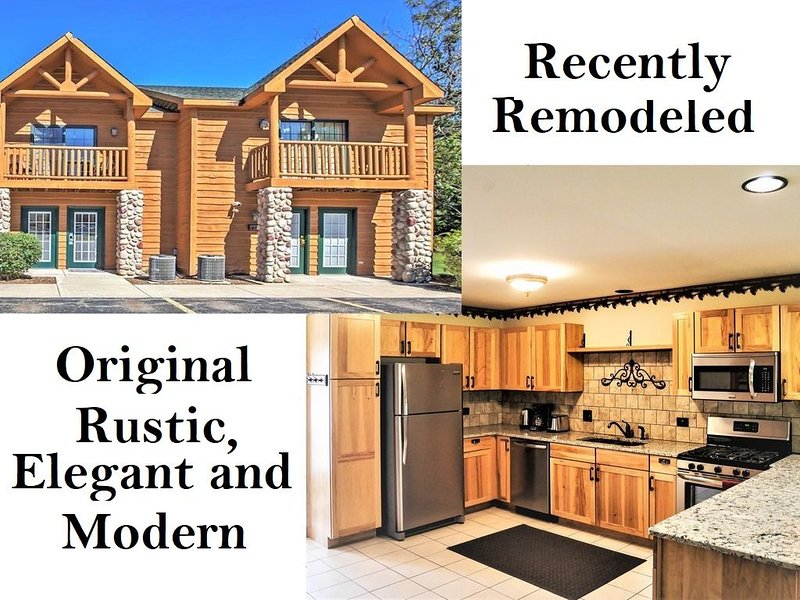Remodeled Villa near Starved Rock State Park. Fully equipped.  Sleeps 9, holiday rental in Peru