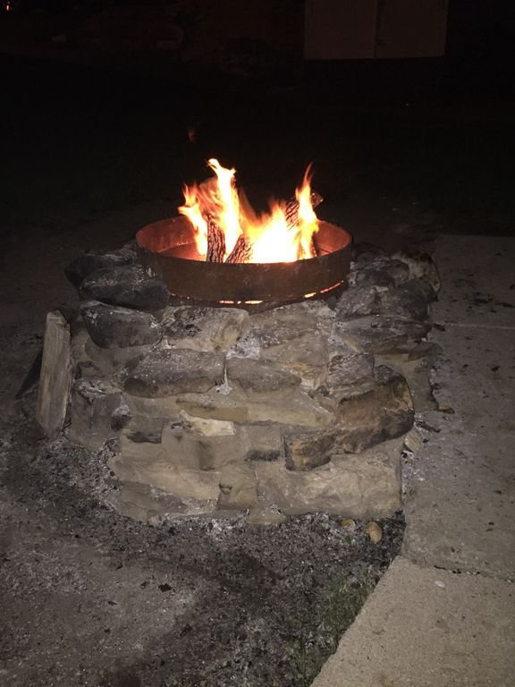 Campfire time.