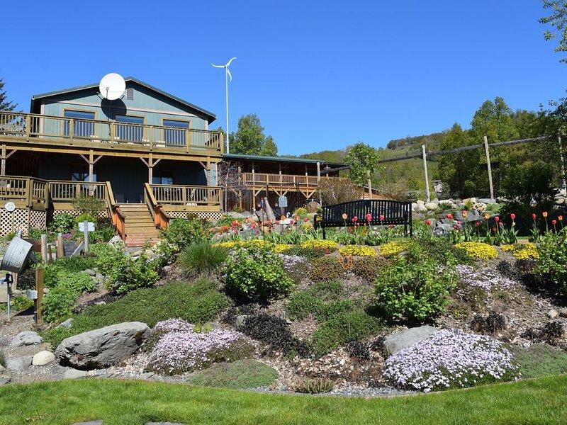 Bay View 3 BDRM * Bear Creek Winery, location de vacances à Fritz Creek