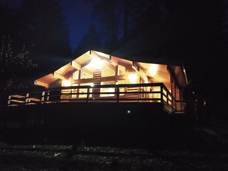 Cozy and comfortable wooded cabin – semesterbostad i Washington