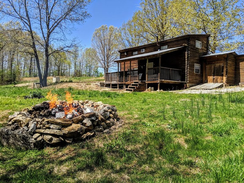 Private Ozark Cabin on 85 acres near Spring River, Ark, vacation rental in Cherokee Village