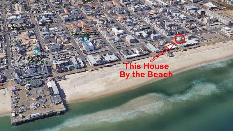 Spacious Newly Renovated Beach Block Retreat, alquiler de vacaciones en Seaside Heights