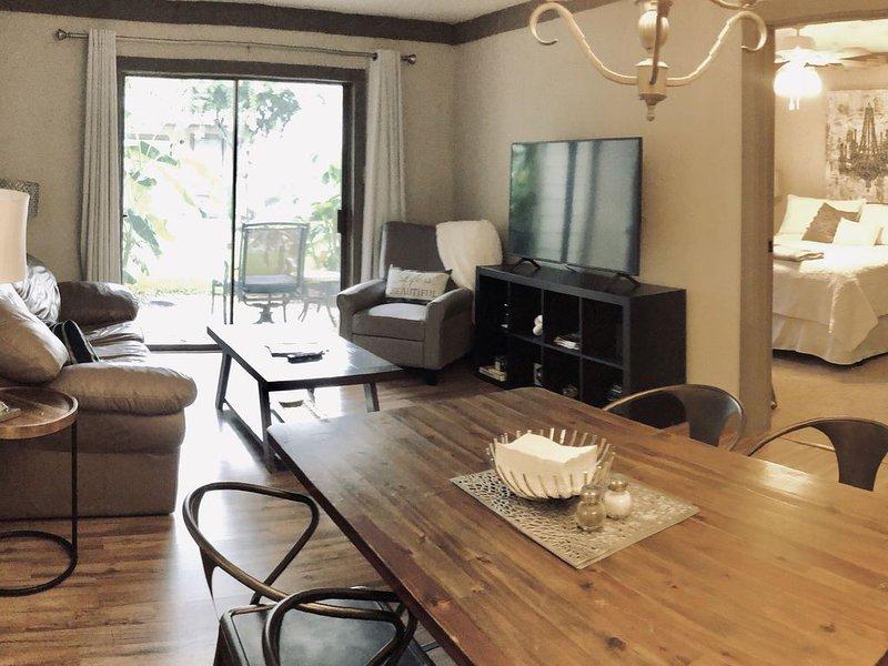 Glorious Getaway, 2 bedroom/2 bath, holiday rental in Montgomery