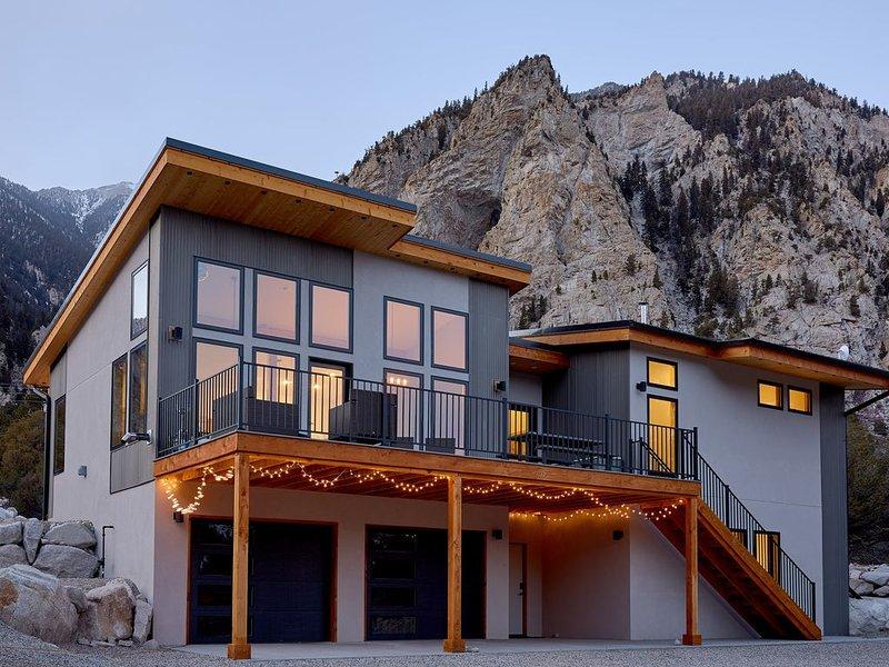 Modern Mountain Retreat, casa vacanza a Nathrop