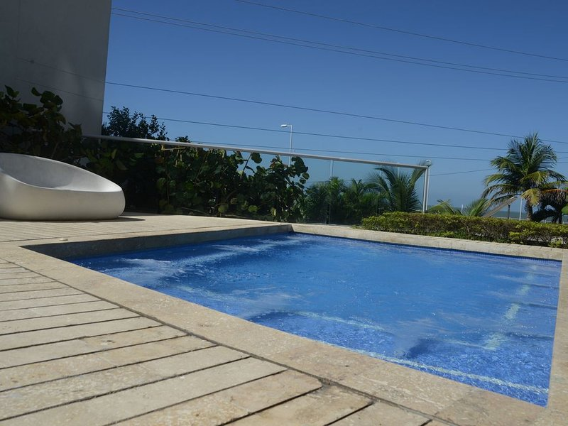 Ocean View Central between beach and city center - Vista al mar, central, vacation rental in Cartagena