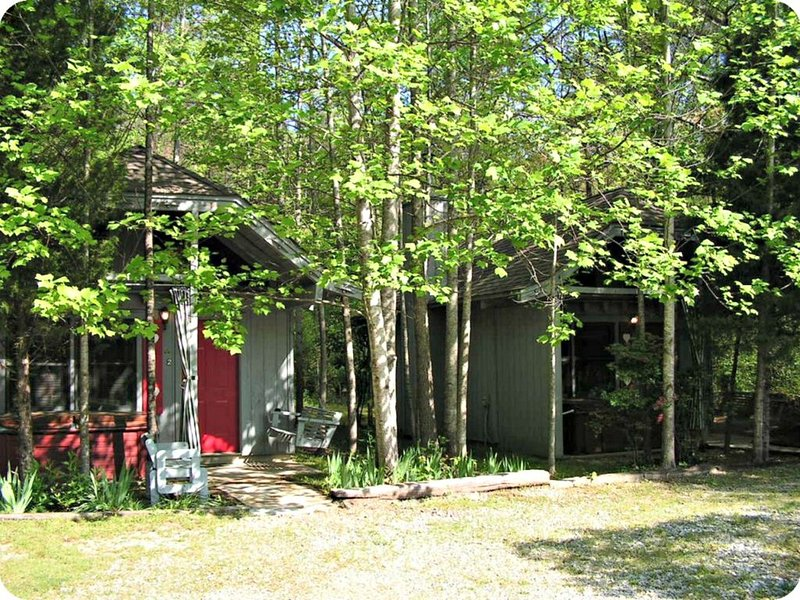 Bear Paw Cottage #2 (Queen) Adorable; Hot Tub; Pet friendly; 2 Adults/2 children, vacation rental in Sautee Nacoochee
