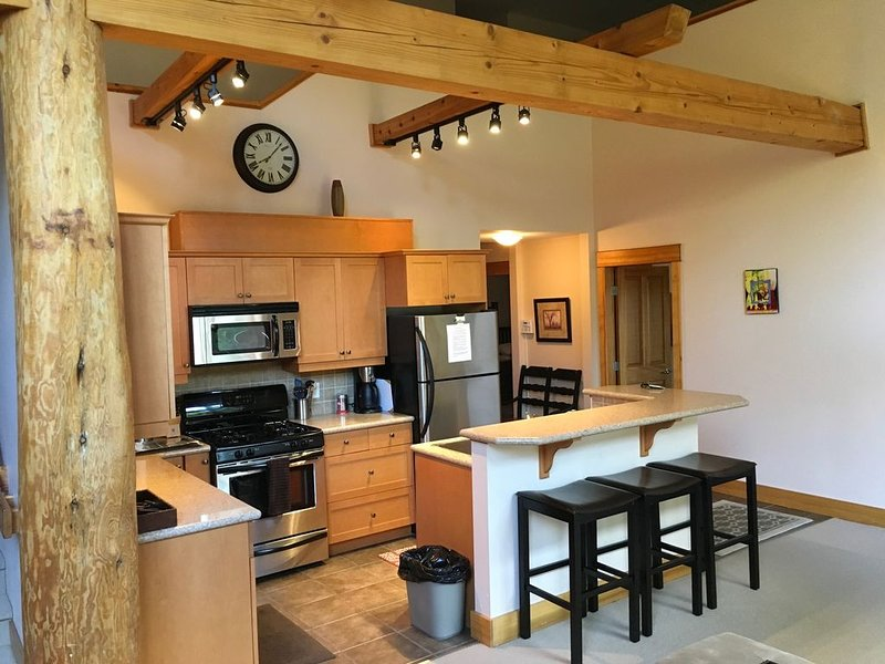 Vacation Penthouse Condo in a Skiing and Mountain Biking Resort, holiday rental in Christina Lake