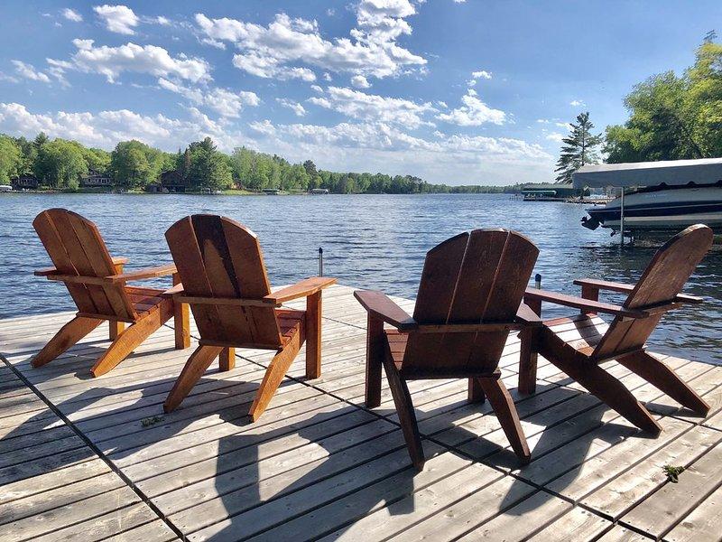 Newly remodeled cabin on Daggett • PONTOON INCLUDED, aluguéis de temporada em Crosslake