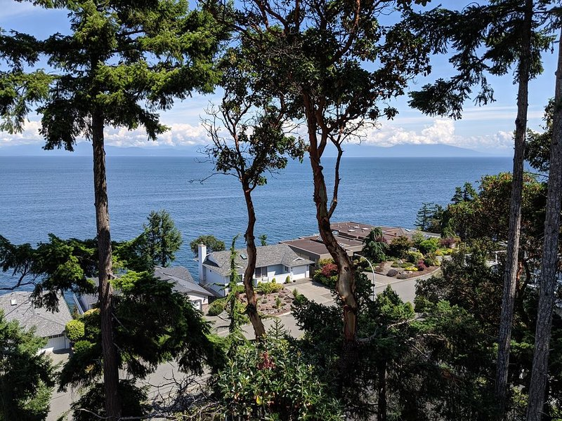 Private Retreat with Sea View and nearby beach access. Long or short stays., holiday rental in Nanaimo