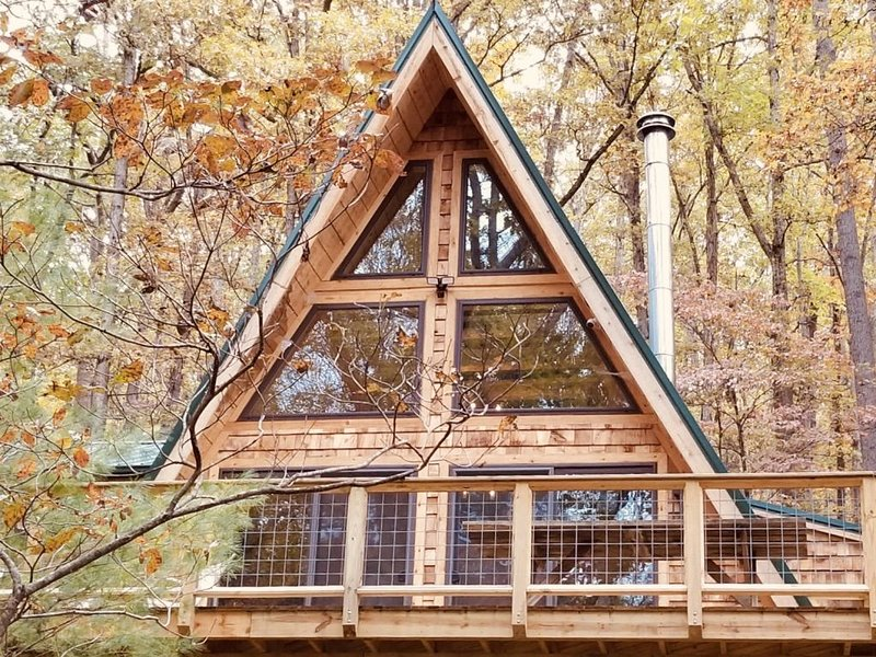 A-Frame Cabin Escape in George Washington Natl Forest, Lost River Area, WV, vakantiewoning in Basye