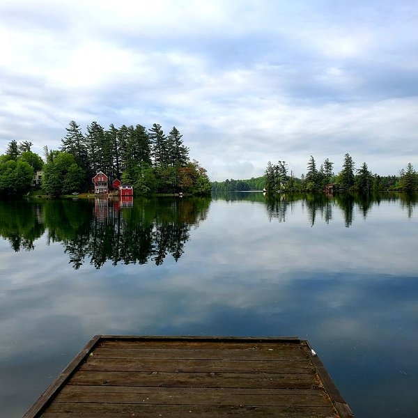 Star Lake, NY: Peaceful Lakefront Setting with Expansive Grounds, holiday rental in Star Lake