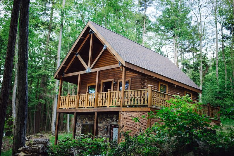 ★DONT MISS★CABIN ON THE RIVER★YOUR PRIVATE ESCAPE, holiday rental in Mifflinburg